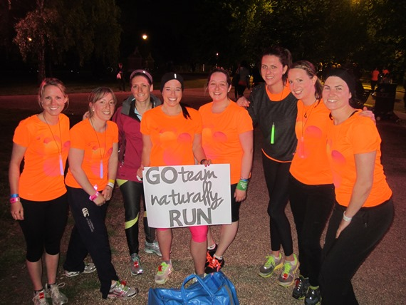 Team Naturally Run - Nike We Own The Night