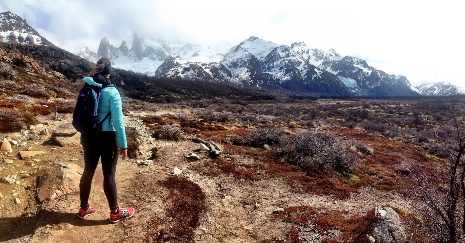 Hiking in El Chalten, Patagonia, Argentina