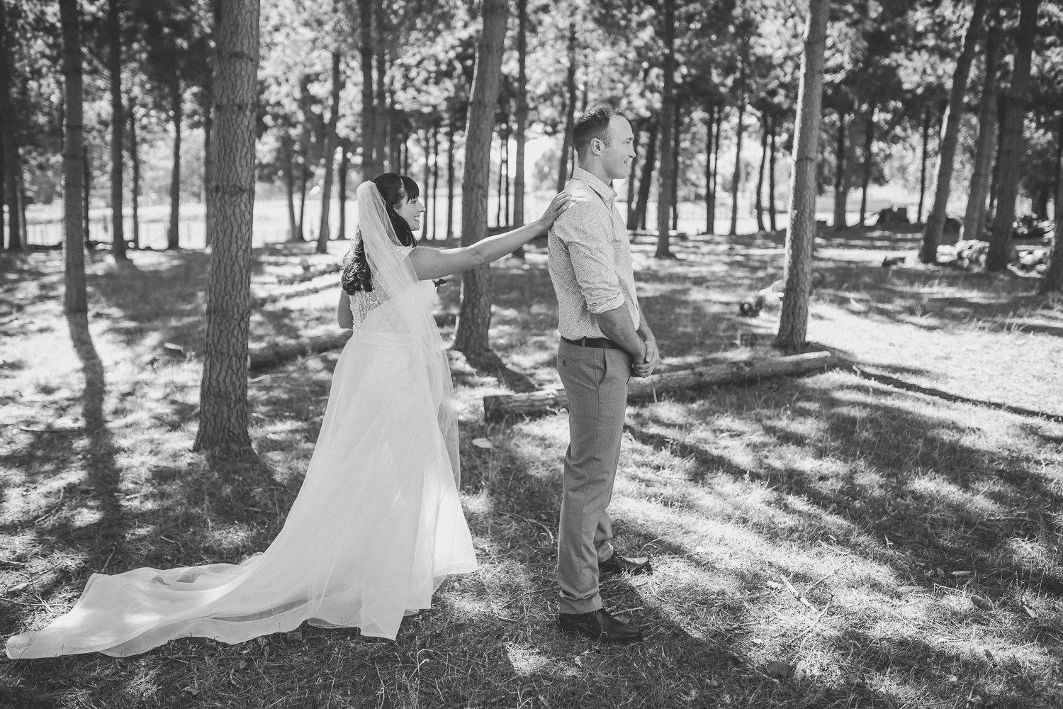 A Topp Wedding The First Look