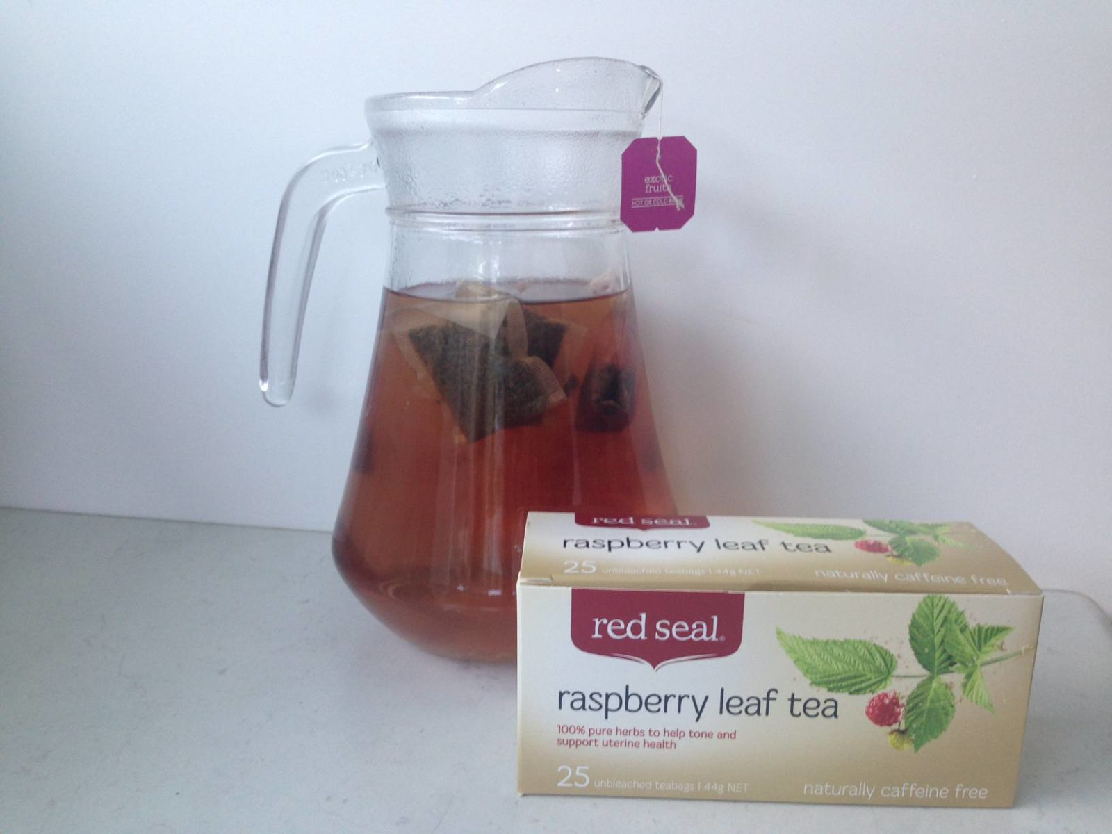Red Seal Raspberry Leaf Tea for Third Trimester